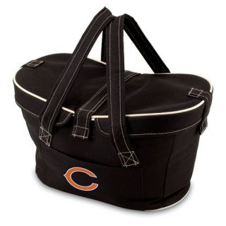 Chicago Bears NFL Licensed Mercado Insulated Picnic Basket Tote Bag