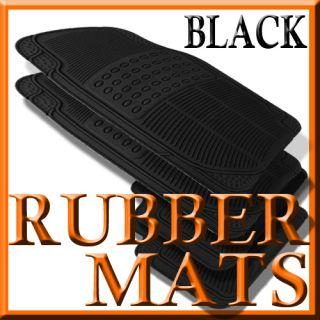 Mercedes Benz s Class Weather Black Rubber Floor Mats