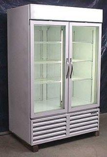 Beverage Air Two Glass Door Freezer Merchandiser
