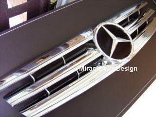 Front Grille Chrome 89 01 Mercedes Benz R129 SL Class