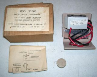 Mears Contols E16835 Double Pole Thermostat 35566 275 1659 00 082378