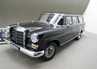 Norev 1 18 Mercedes Benz 200 Universal Black 1968 Die Cast Model RARE