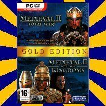 Medieval II 2 Total War Gold Kingdoms PC Game New 010086852233