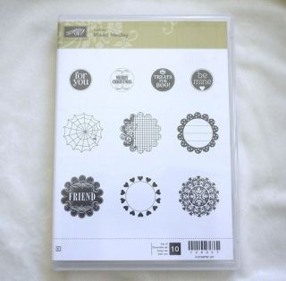 Stampin Up Mixed Medley Hostess Clear Mount Stamp Set New