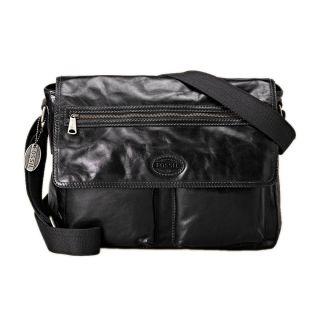 New Fossil Transit E w Leather Messenger Bag MBG8233001