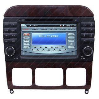99 06 Mercedes Benz s Class W220 Car GPS Navigation  Radio TV iPod