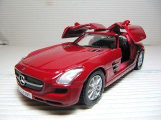 Maisto Mercedes Benz SLS 6 3 Class AMG Diecast Car RARE