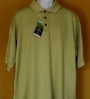 Pebble Beach Mens Golf Polo Shirt Cool Comfort Short Sleeves Size XL