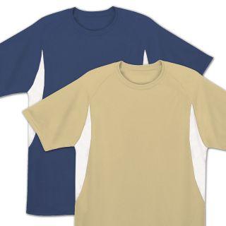 Mens Rash Guard Swim Shirt SPF 50 Loose Fit Fitting Swimwear Navy Blue