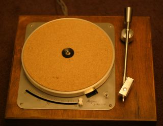 Metzner Starlight vintage turntable with Stromberg Carlson Tonearm 78