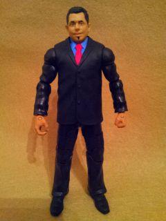 Mattel Elite Michael Cole wwe figure build a pay per view exclusive