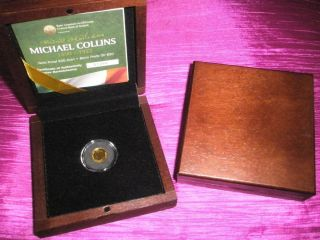Michael Collins €20 Proof Gold Coin 2012 Limited Edition