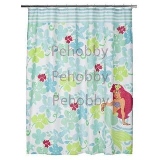 Disney Ariel The Little Mermaid Fabric Shower Curtain