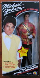 Michael Jackson Music Aawrds Doll MISB LJN Michael Jackson