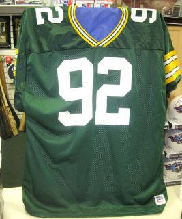 Bay Packers Autographed Signed Mesh Jersey w Full JSA Letter