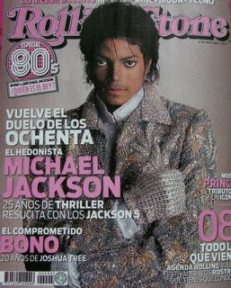 Rolling Stone Cover Michael Jackson Refrigerator Magnet