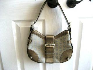 Michael Kors Ladies Gold Metallic Handbag