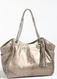Michael Michael Kors Chelsea Metallic Shoulder Tote