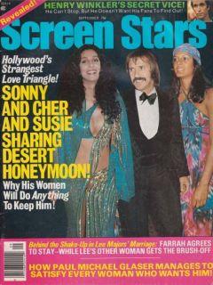 PAUL MICHAEL GLASER Starsky & Hutch FARRAH FAWCETT Sonny & Cher KATE