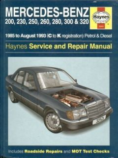 Mercedes Benz E Class W124 1985 1993 Service Repair Manual