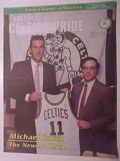 Michael Smith Boston Celtics Pride 7 28 89 Newspaper