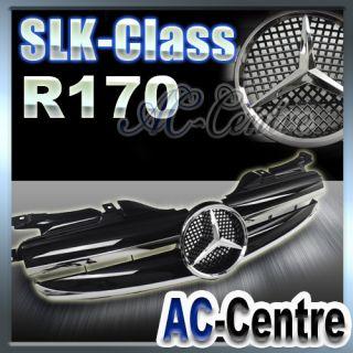 MERCEDES BENZ SLK CLASS R170 SPORT FRONT GRILLE SLK230 SLK320 AMG W170