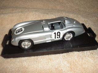 Mercedes Benz 300 SLR Roadster 1 43 Die Cast Metal SILVER by Brumm
