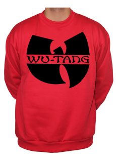 Shirt Jumper Sweatshirt Hoodie ODB RZA GZA Method Man Red