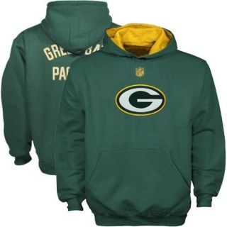 Green Bay Packers Youth Gameday Performance Hoodie Green