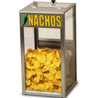 Popcorn Nacho Peanut Heated Display Cabinet Merchandiser Warmer