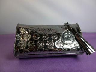 Michael Kors Signature Cosmetics Bag Estee Lauder Limited Edition