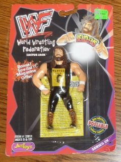 Mick Foley Cactus Jack Signed WWF WWE 1999 Bend Ems Action Figure PSA
