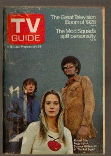 Magazine July 3 1971 The Mod Squad Michael Cole Peggy Lipton Williams