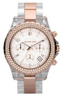 Michael Kors MK5323 Rose Gold Clear Crystal Accented Watch