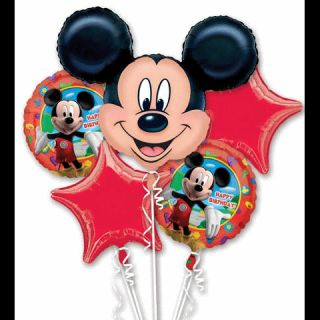 Mickey Mouse Birthday Balloon Bouquet by Anagram