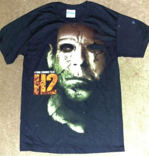 Halloween H2 Michael Myers Shirt Small Rob Zombie Movie