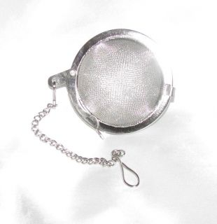 Tea Strainer Diffuser 2 Stainless Steel Mesh Ball