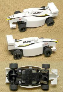 2009 Micro Scalextric Brawn GP 22 Indy Slot Car RARE