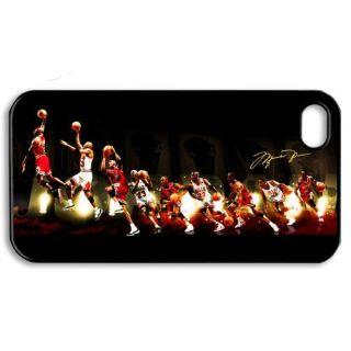 Michael Jordan Apple iPhone 4 4S Hard Case Plastic Cover BP21 04