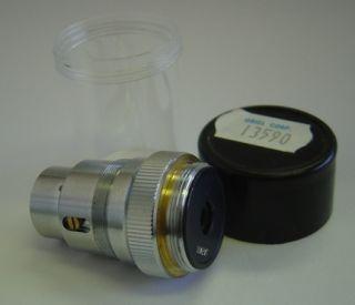 Oriel 13590 20x Spring Loaded Microscope Objective Lens