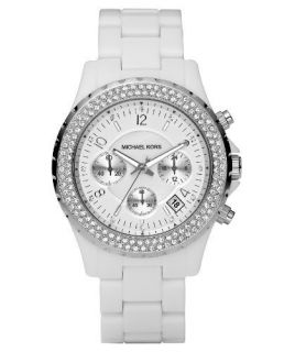 Michael Michael Kors MK5300 White Acrylic Woman Watch