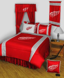Detroit Red Wings Bedroom Decor More Items NHL