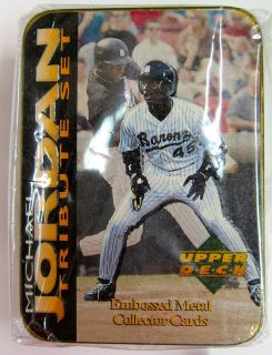 1995 Michael Jordan Upper Deck Baseball Tribute Set