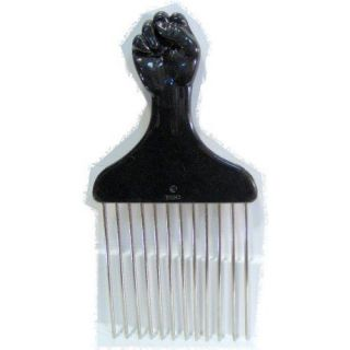 Detangle Metal Lift Hair Pick Piks Comb Wig Braid Hair