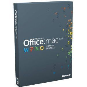 Microsoft Office Mac Home Business 2011 2 License PK