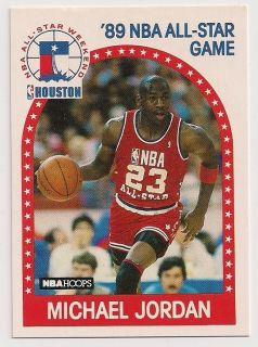 1989 NBA Hoops Michael Jordan All Star Card 21