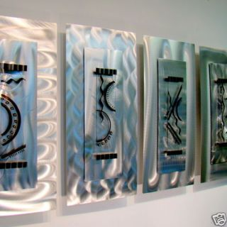 Abstract Metal Wall Art Contemporary Decor Sculpture