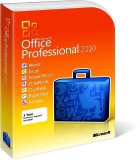 Microsoft Office Professional 2010 Brand New Full Version