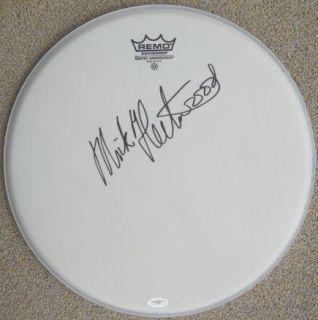 Mick Fleetwood Mac Signed RARE 14 Remo Drumhead JSA