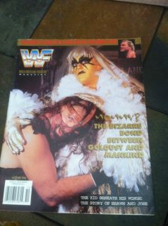 Goldust Mankind Mick Foley WWF Wrestling Magazine October 1996 WCW WWE